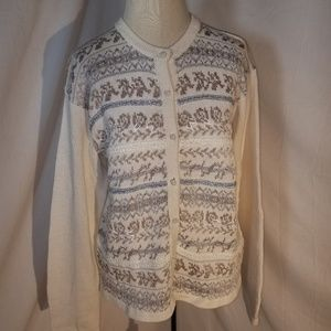 Karen Scott Evening Sweater